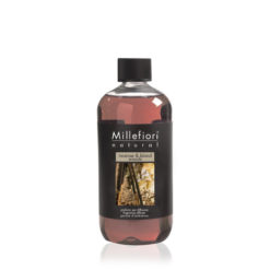 Millefiori Milano - Natural - Doftstickor - Incense & Blond Woods - Refill For Stick Diffuser 500ml