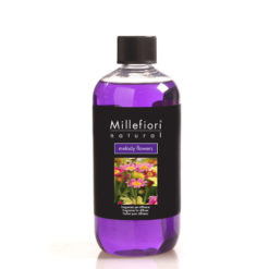 Millefiori Milano - Natural - Doftstickor - Melody Flowers - Refill For Stick Diffuser 500ml